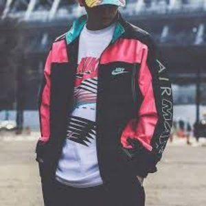 Rare Nike x Atmos VTG Patchwork Jacket